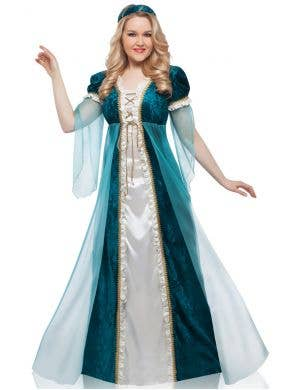 Juliet Emerald Green Deluxe Women's Plus Size Costume