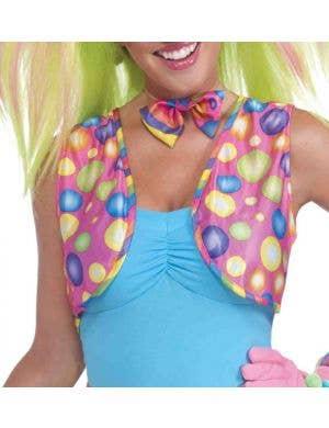 Circus Sweetie Women's Clown Vest