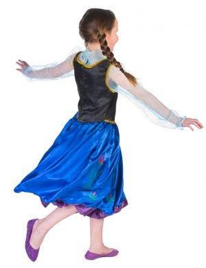 Anna Girls Fancy Dress Frozen Costume