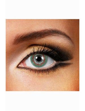 Wreath One Day Wear Christmas Contact Lenses