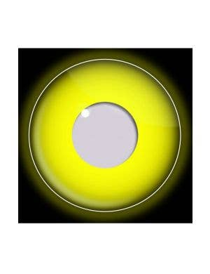 Yellow Coloured UV 90 Day Wear Contacts
