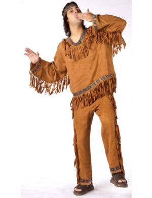 Native American Indian Men's Plus Size Costume