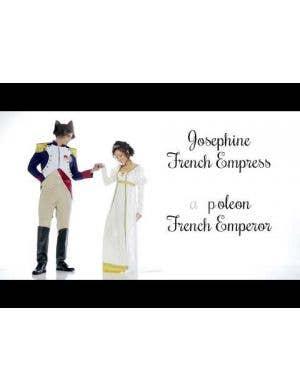 French Emperor Napoleon Men's Fancy Dress Costume