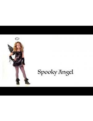 Fallen Angel Girl's Tween Halloween Costume