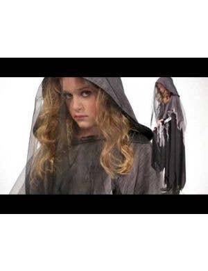 Miss Reaper Teen Girls Halloween Costume