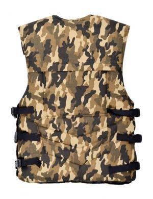 Army Camo Men's Military Armour Costume Vest