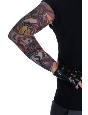 Luck and Freedom Novelty Full Length Tattoo Sleeve