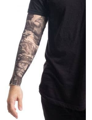 Native American Tattoo Sleeve Costume Accessory