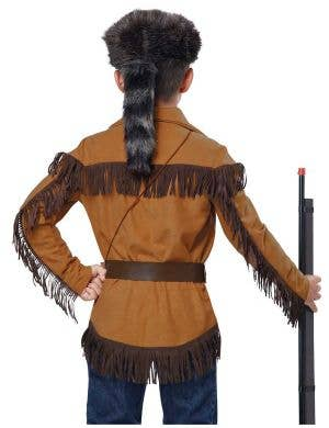 Davy Crockett Boys Fancy Dress Costume