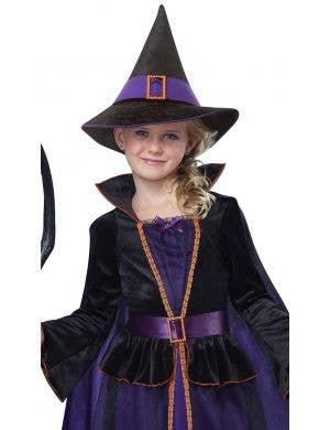 Hocus Pocus Girl's Deluxe Witch Halloween Costume
