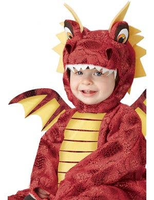 Adorable Red Dragon Infant Onesie Costume
