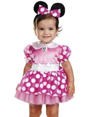 Disney Baby Pink Girl's Minnie Mouse Infant Costume
