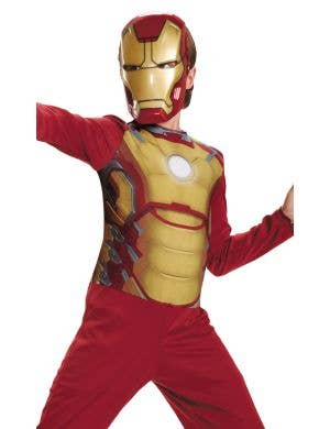 Iron Man Mark 42 Boy's Fancy Dress Costume