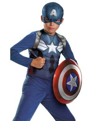 Captain America Boys Avengers Fancy Dress Costume