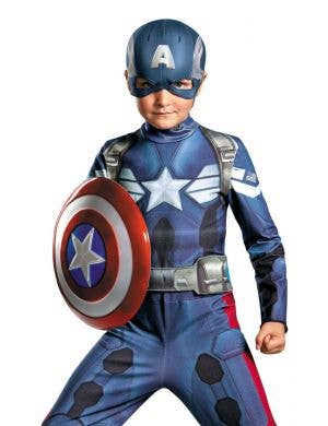 Captain America Boy's Winter Soldier Costume