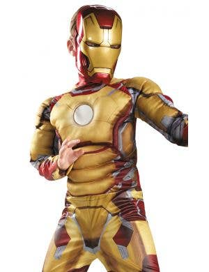 Iron Man 3 Boys Superhero Fancy Dress Costume