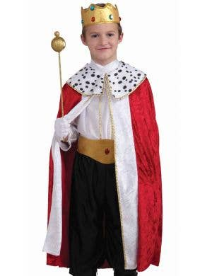 Regal King Boys Fancy Dress Costume