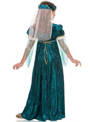 Juliet Emerald Green Girl's Deluxe Book Week Costume