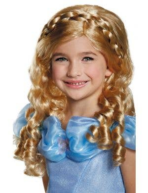 Cinderella Long Blonde Fairy Tale Girl's Costume Wig
