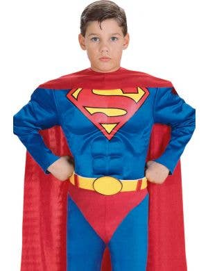 Muscle Chest Superman Boys Book Week Costume