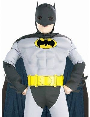DC Batman Boys Muscle Chest Fancy Dress Costume