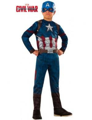 Captain America Civil War Boys Fancy Dress Costume