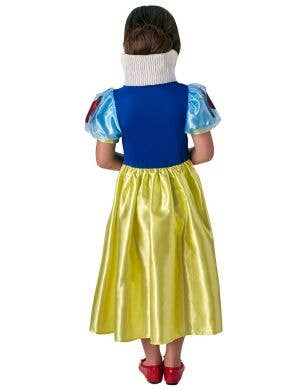 Disney Princess Snow White Girls Fancy Dress Costume