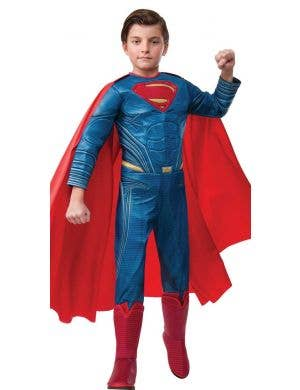 Superman Dawn of Justice Deluxe Boys Costume