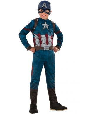 Captain America Boys Avengers Infinity War Costume