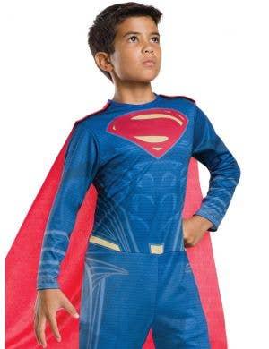 Superman Boy's Justice League Fancy Dress Costume