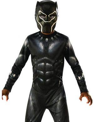 Classic Black Panther Boys Dress Up Costume