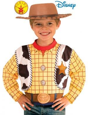 be1238d29 ... Toy Story 4 Officially Licensed Boy's Woody Costume Top