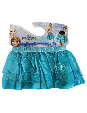 Disney Frozen Girls Light Blue Elsa Tutu Skirt