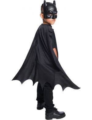 Dark Knight Black Batman Boys Mask and Cape Set