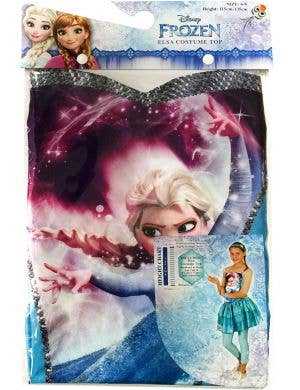 Disney Frozen Girls Elsa Costume Top
