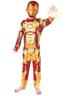 Iron Man 3 Boys Budget Marvel Avengers Superhero Costume