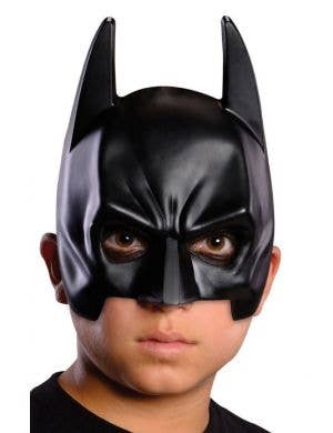 Batman Kids Black Dark Knight Mask Costume Accessory