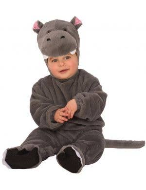 Baby Hippo Unisex Toddler Fancy Dress Costume Onesie