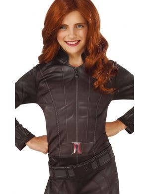 Marvel Avengers Girl's Black Widow Fancy Dress Costume