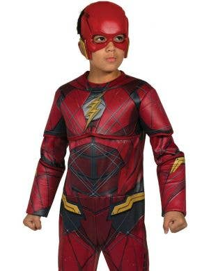 ... Justice League Boyu0027s The Flash Superhero Costume  sc 1 st  Heaven Costumes : childrens flash costume  - Germanpascual.Com