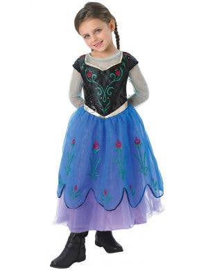 Anna Frozen Deluxe Girls Disney Book Week Costume