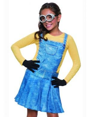 Despicable Me - Girls Yellow Minion Costume