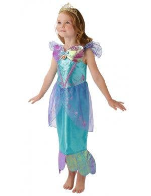 Disney Princess Girl's Deluxe Little Mermaid Ariel Fancy Dress Costume