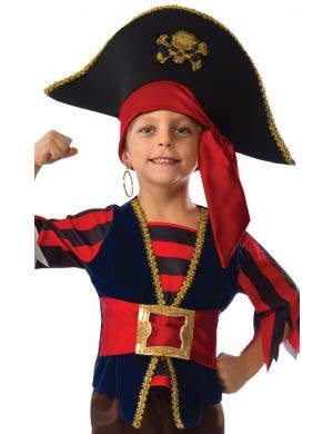 Shipmate Buccaneer Boys Pirate Costume