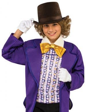 Classic Willy Wonka Boys Roald Dahl Costume