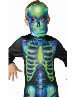 Skeleton Glow In The Dark Boys Halloween Costume