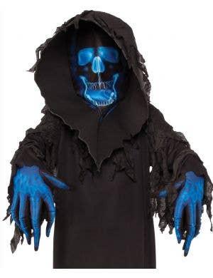 Skull Phantom Boys Grim Reaper Halloween Costume