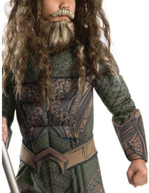 Aquaman Deluxe Justice League Muscle Chest Boys Superhero Costume