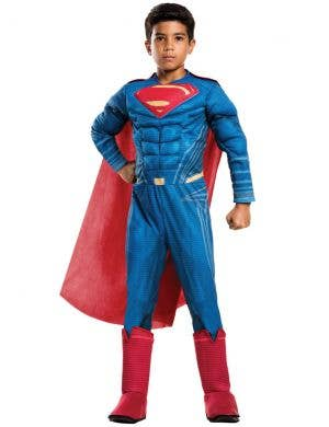 Justice League Superman Boys Muscle Chest Costume