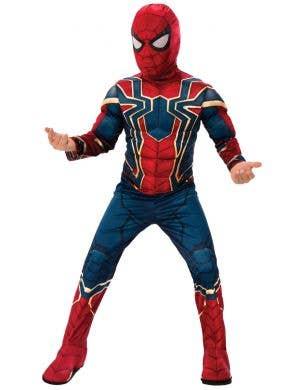 Iron Spider Avengers Infinity War Boys Spiderman Costume